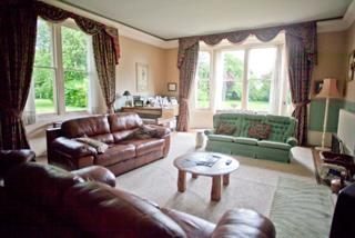 The lounge at the Old Rectory